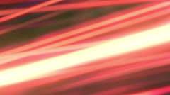 Futuristic Red Lines Digital Abstract Light Background Stock Footage