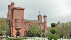 Smithsonian Institution Building Stock Footage