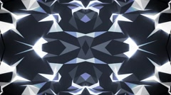 Abstract Crystal Background - stock footage
