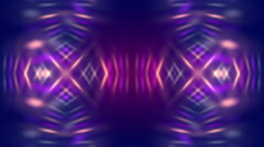 Purple abstract background and flowing light, loop Stock Footage