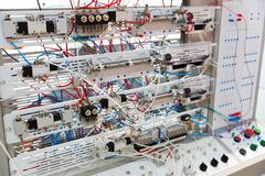 Electro panel - stock photo