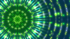 Green and blue background and flowing light, loop Stock Footage