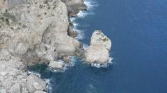 Cap Formentor, Majorca, Spain Stock Footage
