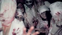 Nurse Silent Hill - stock footage