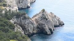 Bay near Andratx, Calvia, Majorca, Spain Stock Footage