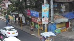 Philippine street corner - stock footage