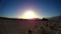 Desert Offroad - Fonts Point Anza Borrego Desert Ca #8 PAN Stock Footage
