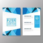 Flyer Headline design. Paper icon. Colorful design Stock Illustration