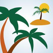 Tree design. eco concept. natural  icon, editable vector - stock illustration