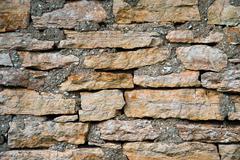 The texture of masonry rubble closeup Stock Photos