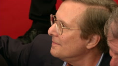 William Friedkin press conference Stock Footage