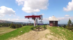 Summer Sky lift Stock Footage