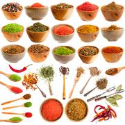 Spice and herb - stock photo