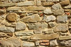 Stone wall texture ready for your architectural design Stock Photos