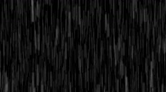 Deluge of Rain Water against a Night Sky, with Sound. Video 4k 2160p Stock Footage