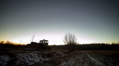Time-lapse of day-to-night transition Stock Footage