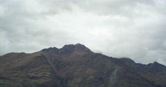 Mountain Ridge Close Up Time-lapse Stock Footage
