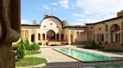 iran  the old persian architecture - stock footage