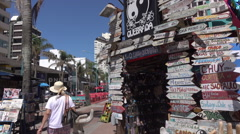 Punta Del Este, Canoa Quebrada boutique shop, Juan Gorlero Avenue, Uruguay Stock Footage