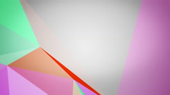 Abstract geometric composition 4K Stock Footage