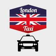 Taxi  design. cab concept. transportation icon , editanle vector Stock Illustration