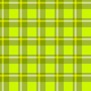 Green checkered cloth Stock Illustration