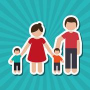 pregnancy woman graphic design, vector illustration - stock illustration