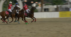 Second polo game Stock Footage