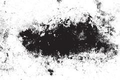 Distress Grunge Frame - stock illustration