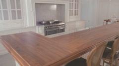 Luxurious kitchen - stock footage