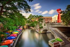 River Walk in San Antonio Kuvituskuvat