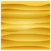 Paper orange circle banner with drop shadows. Vector illustration Stock Illustration