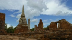Old temples, ruins in south east asia Stock Footage