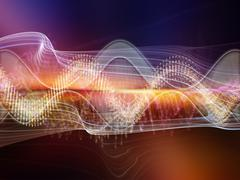Acceleration of Sound Stock Illustration