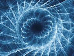Elegance of Spiral Pattern - stock illustration