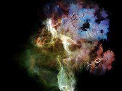 Virtual Dream Space - stock illustration