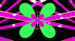 Transformed the clover Stock Footage