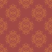 Red Element for Design. Pattern Fill. - stock illustration