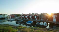 Smögen, Bohuslän, Sweden, Scandinavia - stock footage