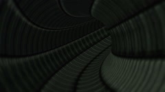 Fantastic Dark Apocalyptic Tunnel Seamless Looping Background - stock footage