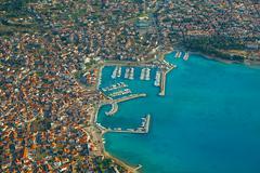 Croatian Coastal Town - stock photo