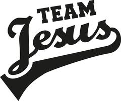 Team Jesus - stock illustration