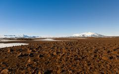 Volcanic icelandic landscape Kuvituskuvat