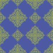 Yellow Texture on Blue. - stock illustration