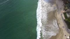 Laguna Beach Waves Stock Footage