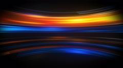 Glow light streaks high tech loopable background 4k (4096x2304) Stock Footage