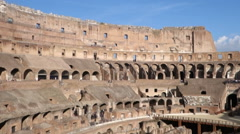 Colosseum Amphitheater in Rome - stock footage