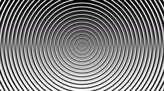 Concentric geometric shapes-03-6-pa Stock Footage