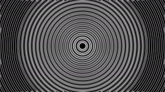Concentric geometric shapes-03-8-pa - stock footage
