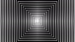 Concentric geometric shapes-04-10-pa Stock Footage